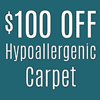 Anniversary Sale  $100 OFF Hypoallergenic carpet    Mohawk air.o