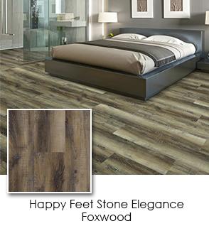 Luxury Vinyl - Happy Feet - Stone Elegance - Foxwood