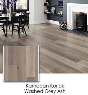 Luxury Vinyl - Karndean - Korlok - Washed Grey Ash