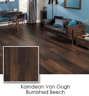 Luxury Vinyl - Karndean - Van Gogh - Burnished Beech