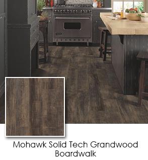 Luxury Vinyl - Mohawk - Solid Tech - Grandwood - Boardwalk