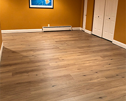 Quality installations and superior craftsmanship by Cover-Rite Carpets.